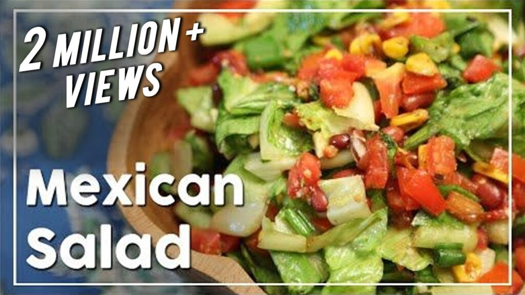Mexican Salad – Healthy Salad Recipe – My Recipe Book With Tarika Singh
